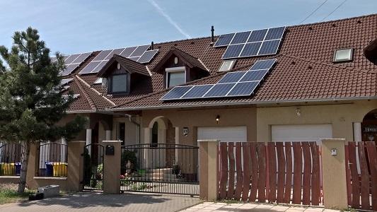 A1 Solar napelemes lakossági rendszer
