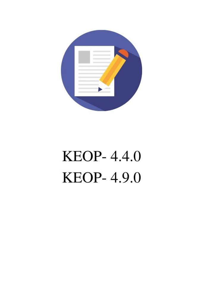 KEOP 4.4.0, 4.9.0 pályázat
