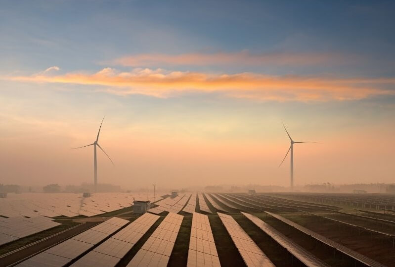 a1-napelem és szélenergia hasznosítás