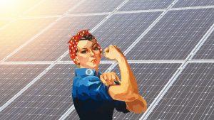 Nők a napenergia területén